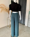 VARYA PANTS IN TEAL