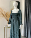 AYLIN DRESS IN TEAL