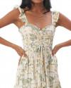 Salara Dress in Isadora Floral Sage