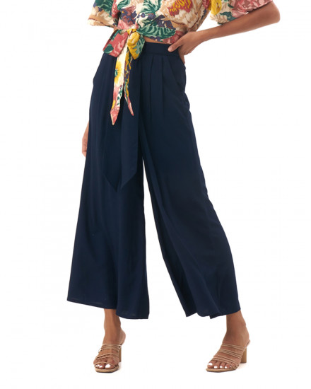Caro Pants in Navy
