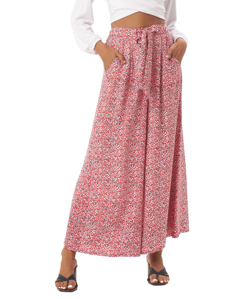 Liam Pants in Amba Floral Red