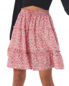 Lilo Skirt in Amba Floral Red