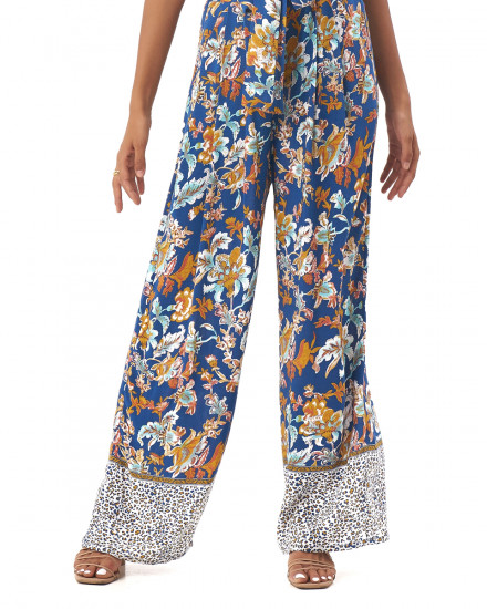 GEORGIA PANTS IN Samira Cobalt Blue