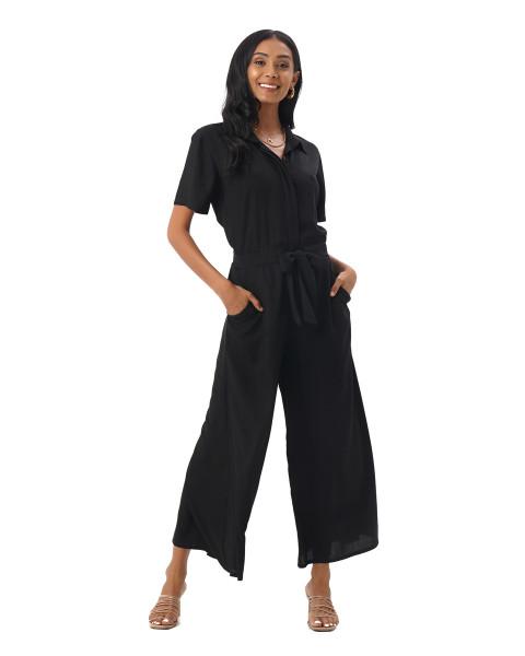 Melissa Jumpsuit in Black