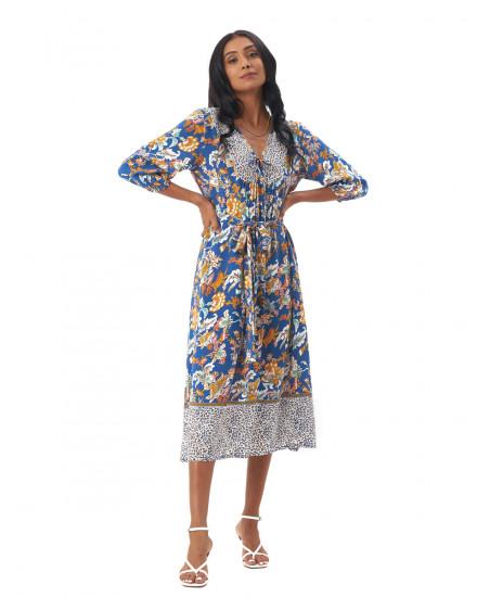 Genesis Dress Samira Cobalt Blue