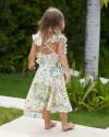 Chloe Dress in Isadora Floral Sage