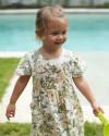 Lulu Dress in Isadora Floral Sage