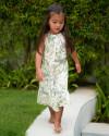 Lily Dress in Isadora Floral Sage