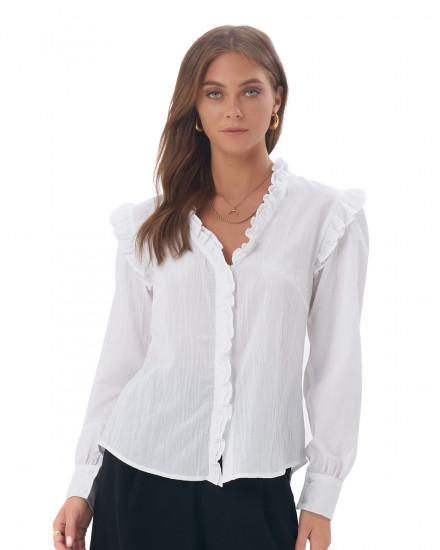 Gisela Top In White