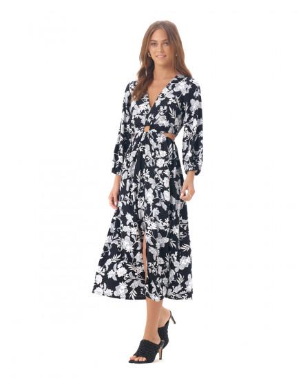 Svara Dress in Floral Vannya