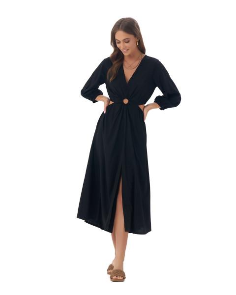 Diaz Dress in Black