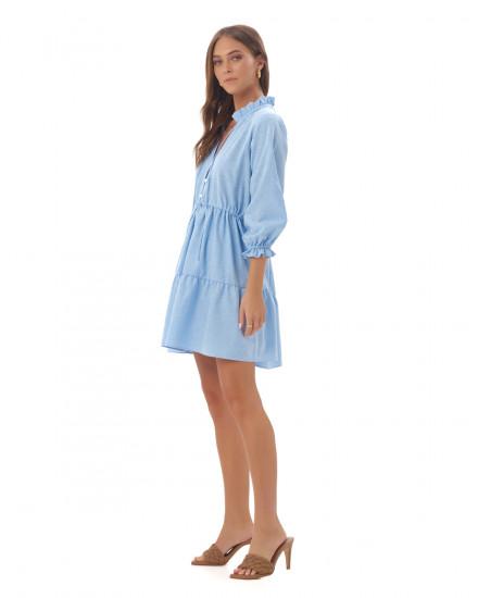 Adonnia Dress in Sky Blue