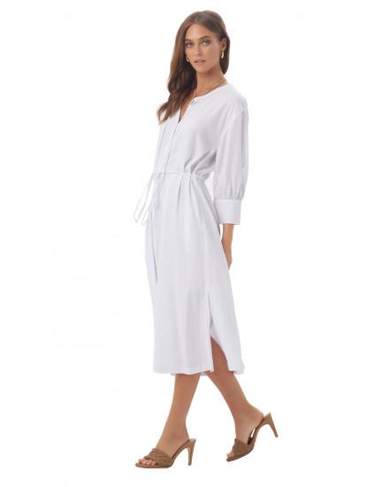 Inari Dress in White