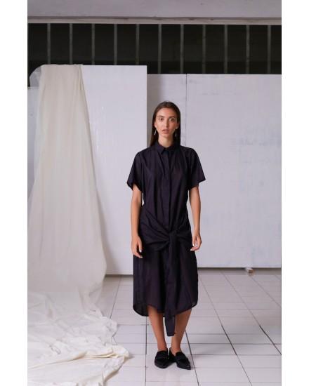 CALLISTA DRESS IN GREY