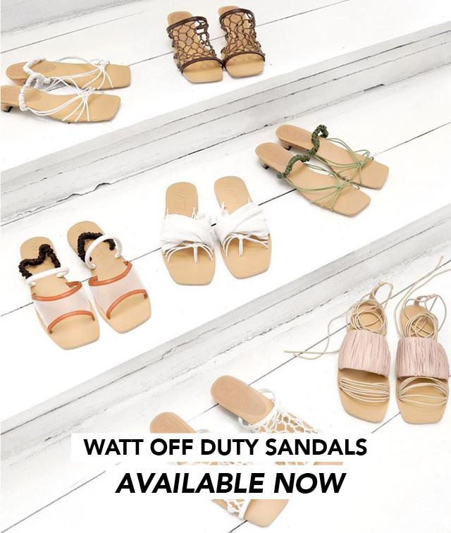 Watt Sandals
